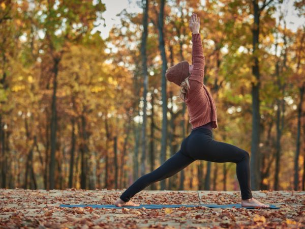 jesien z joga